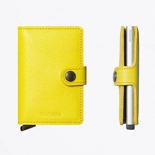 | Miniwallet : Crisple Lemon Leather