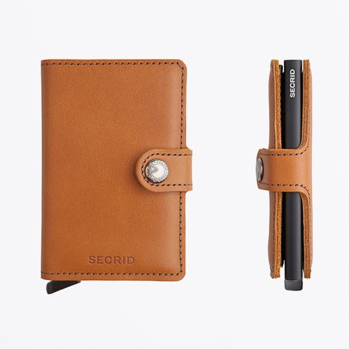 Secrid - Miniwallet : Limited Cognac/Black