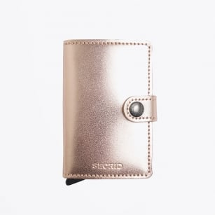 | Miniwallet - Metallic - Rose