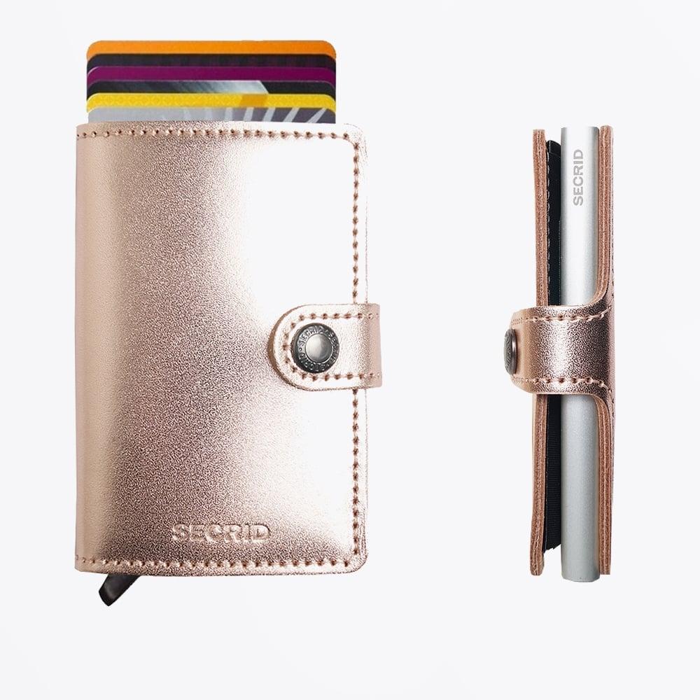 31caf9cd6e7 Secrid | Mini Wallet Metallic Rose | Mr & Mrs Stitch
