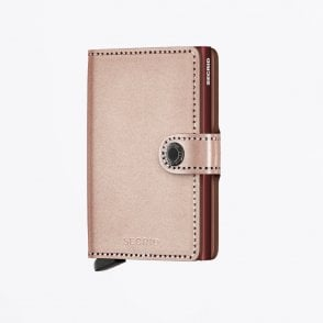 - Miniwallet - Metallic Rose