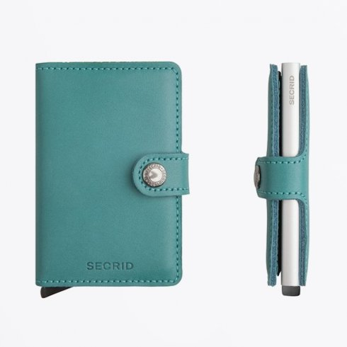 Secrid - Miniwallet : Original Emerald Leather