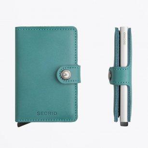 | Miniwallet : Original Emerald Leather