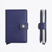 - Miniwallet : Original Indigo Leather