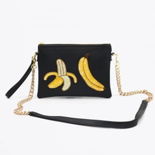 - Colima Black Banana Split Bag