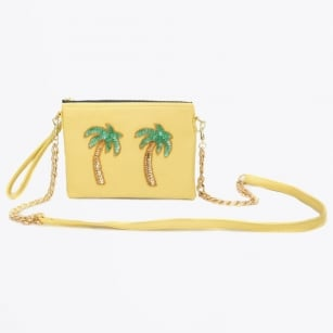 - Tulum Yellow Palmera Bag