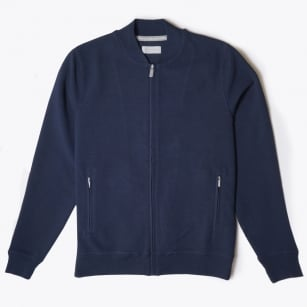 - Baseball Sweater - Navy