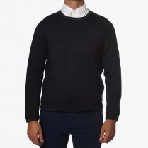 - Crew Neck Dark Grey Jumper