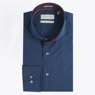   Diamond Detail Shirt - Navy
