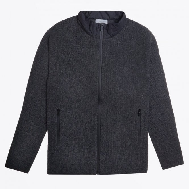 Thomas Maine - Sporty Zip Sweater - Grey