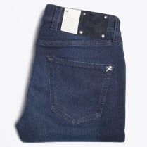 -  Leonardo 1 Month Stretch Comfort Jeans - Blue