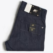 - Limited Edition Gold Jeans - Indigo Blue