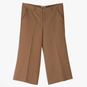 - Iza Culotte Trousers - Tan