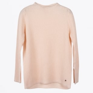 - Linnea Slim Fit Jumper - Pink