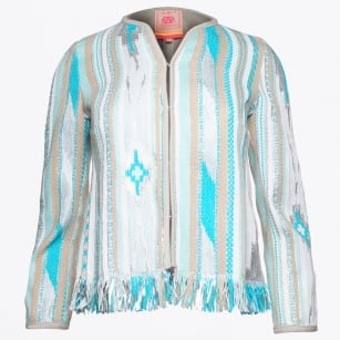 - Alice Fringe Detail Jacket - Morgette