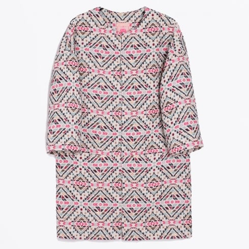 Vilagallo - Aztec Print Long Coat