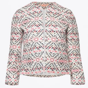 - Aztec Short Printed Jacket