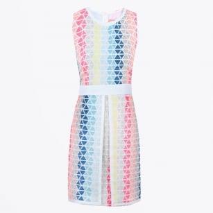| Beatriz Multistripe Print Dress - Multi
