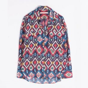 - Gabriella Aztec Printed Top - Multi