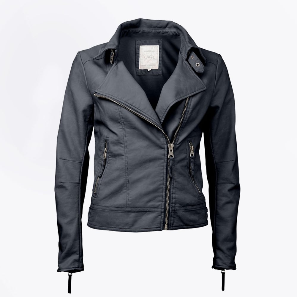 Shop women's leather & faux leather jackets at manakamanamobilecenter.tk Discover a stylish selection of the latest brand name and designer fashions all at a great value.