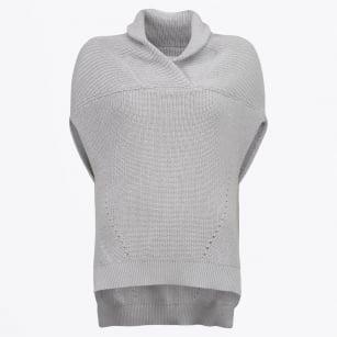 | Sleeveless Knit - Grey