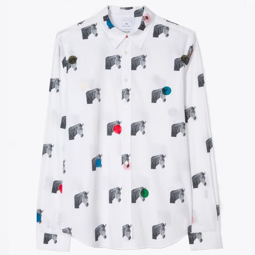 ff7aba0e83 Paul Smith - Zebra Print Shirt - White - Mr & Mrs Stitch